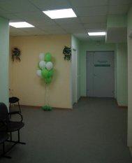Холл ожидания перед КТ кабинетом, виртуальная колоноскопия, колоноскопия в петербурге