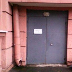 служебный вход в здание поликлиники РЖД, где сделать КТ, где сделать КТ в СПБ