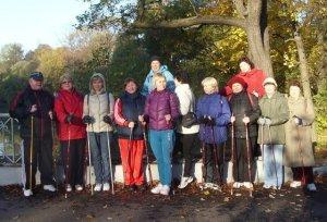 Клуб любителей Nordic walking, скандинавская ходьба, финская ходьба с палками