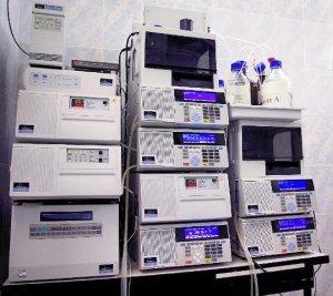 оборудование лаборатории для анализа волос